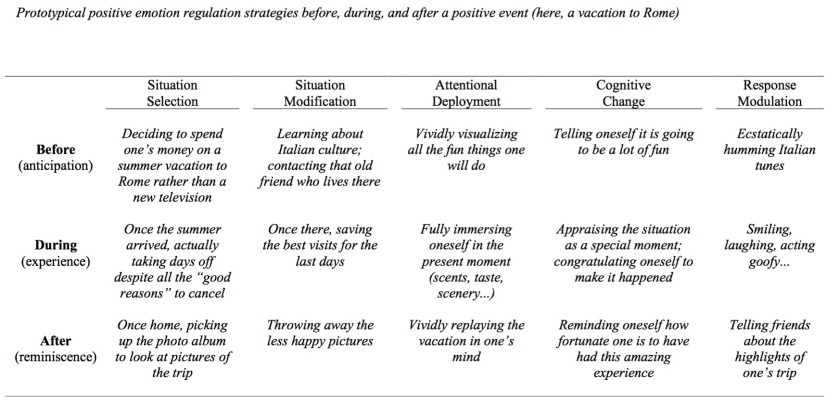Emotion Regulation Example