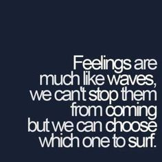 Surf the emotion
