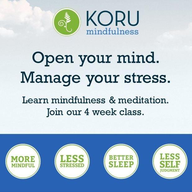 Koru Mindfulness Poster