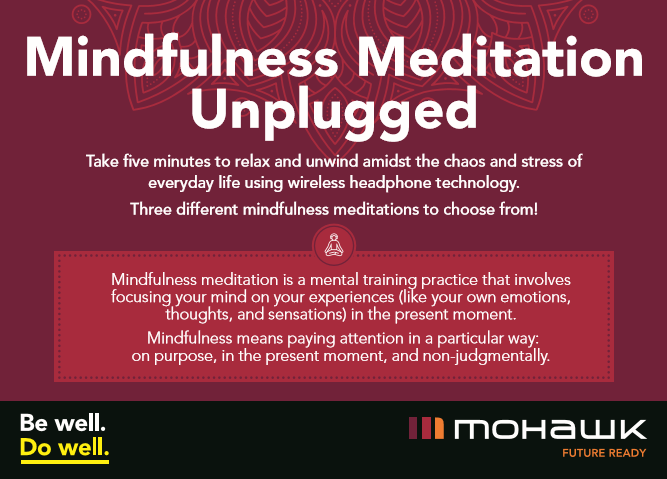Mindfulness Unplugged Card - Front