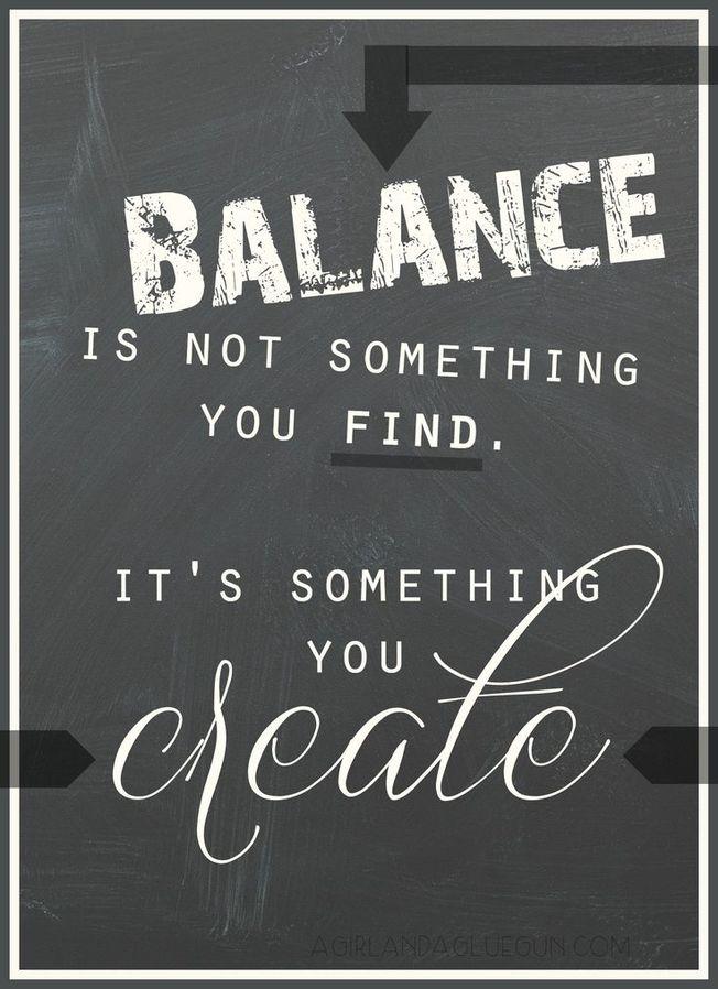 Balance You Create